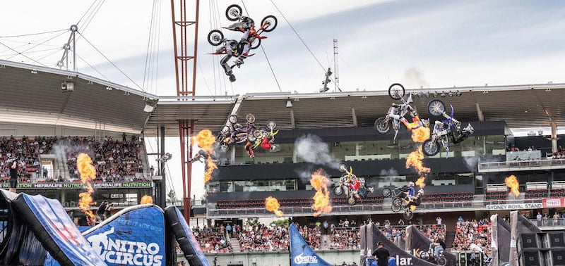 Thrill One's Nitro Circus is one of action sports' biggest live draws