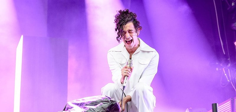 The 1975 to only play festivals with a 50/50 gender split