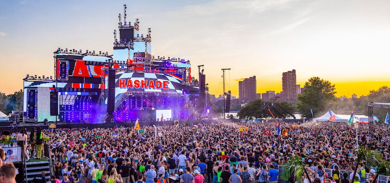 Kaskade's sunset DJ set at Made Event's Electric Zoo New York 2019