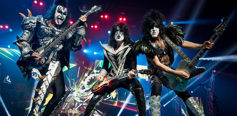 Kiss were Download's Friday-night headliners