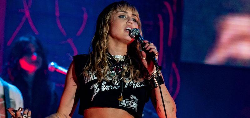Miley Cyrus performs at Primavera Sound 2019
