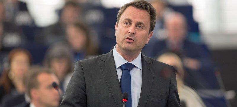 Luxembourgish prime minister Xavier Bettel