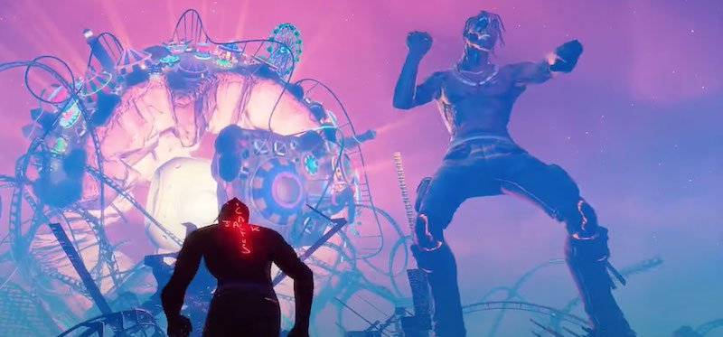 Travis Scott and his Astroworld, as seen from the point of view of YouTuber Ali-A