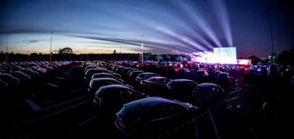 A lifeline for live: Inside the drive-in concert boom