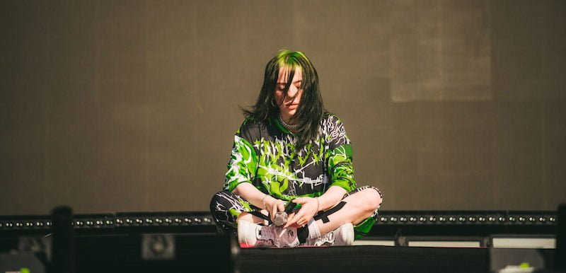 Billie Eilish at Reading 2019
