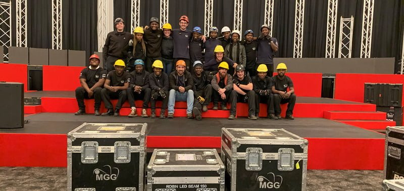 Feed Our Crew supports freelancers in South Africa