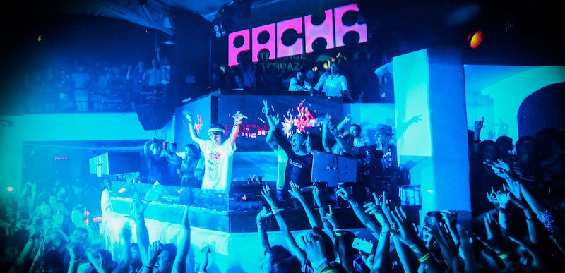 Danny Wade performs at Pacha Ibiza