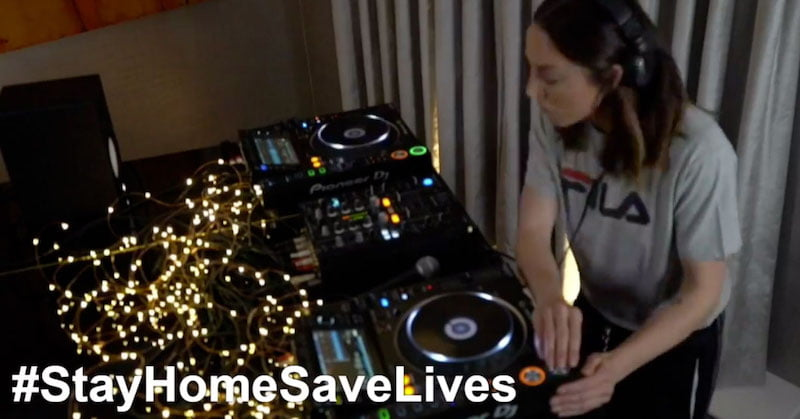 Mel C played a special set to mark the anniversary of the Manchester Arena bombing