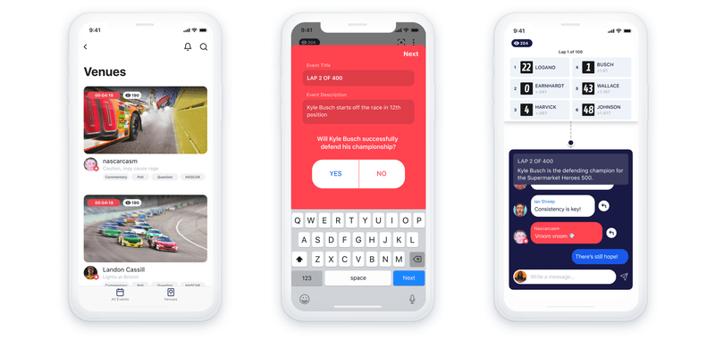 Facebook launches live events app Venue