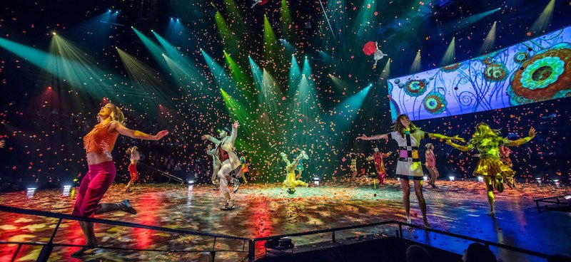 Cirque du Soleil produced The Beatles' Love, which debuted in 2006