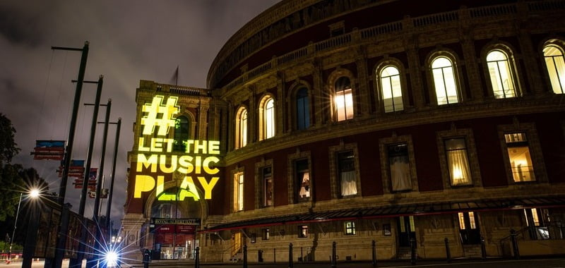 Live reactions as day of action for live music unfolds