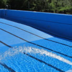 The pool in Entringen, Ammerbuch, has been closed to swimmers since March