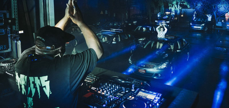 Drive-in rave poses as religious service in Seattle