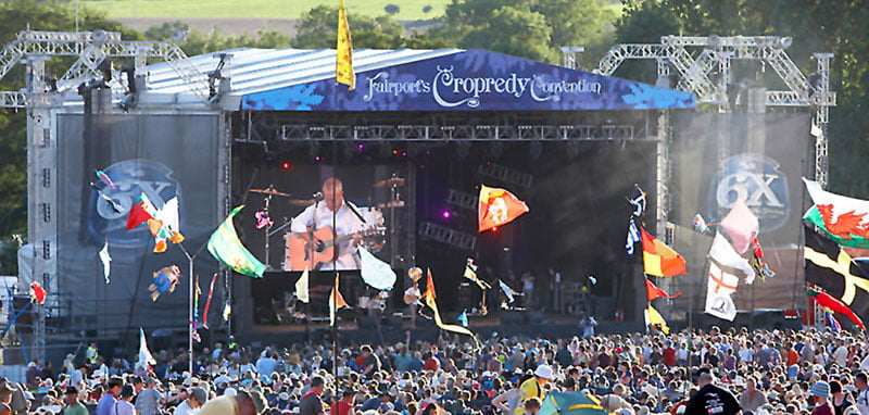 Fairport Convention's Cropredy Festival is an AFO member