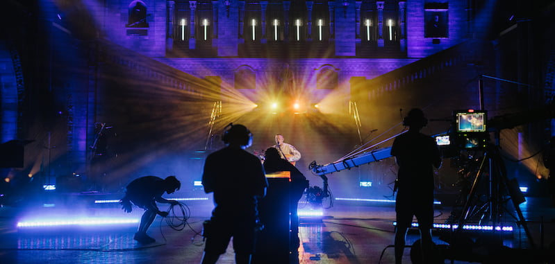 Dermot Kennedy's performance at the Natural History Museum was livestreamed to over 30,000 ticket buyers