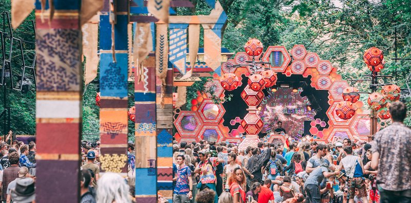 Decor and design at Noisily festival
