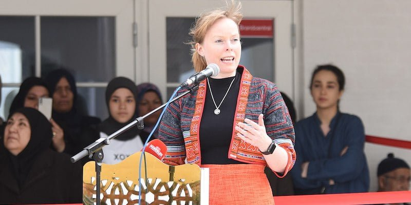 Danish minister for culture Joy Mogensen
