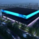A rendering of Manchester Arena on the Etihad Campus in east Manchester