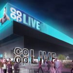 An artist's impression of the Co-op Live arena