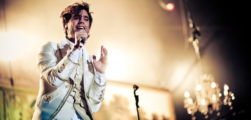 Mika performed alongside Kylie, Rufus Wainwright and others for I Love Beirut