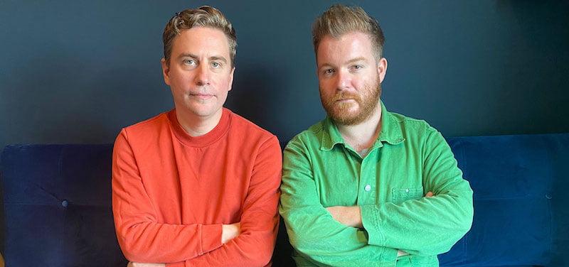 Daniel Ealam (left) and Scott Neill