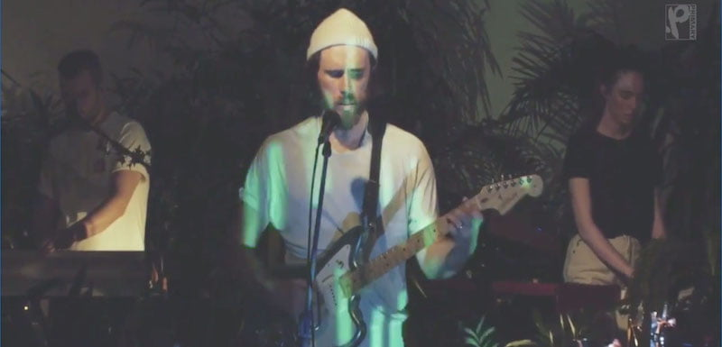 James Vincent McMorrow performs as part of Primary Talent's iFF showcase