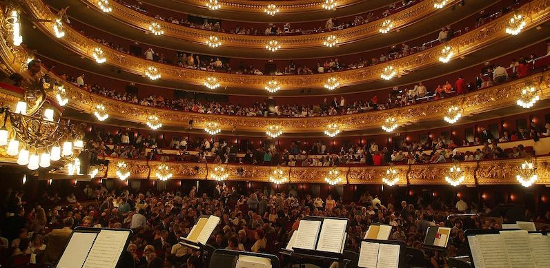 Gran Teatre del Liceu will not be able to operate at 50% capacity under the new 1,000 persons limit