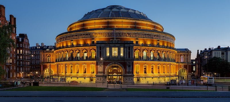 London's Royal Albert Hall will receive repayable finance from the CRF