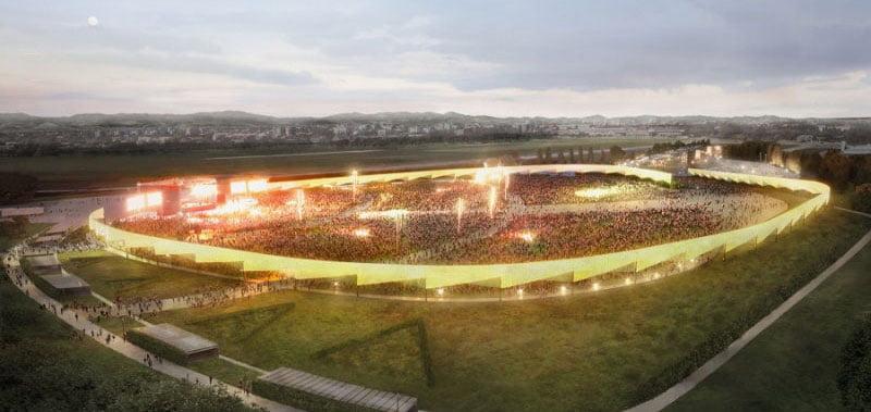 RCF Arena is located just outside Reggio Emilia city