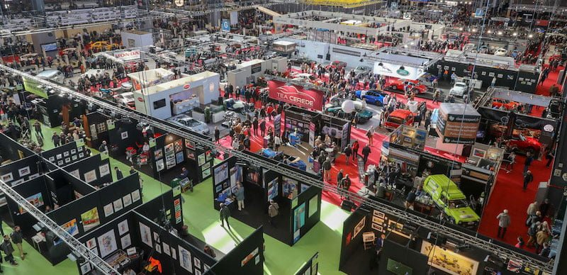 Comexposium organises Paris's Retromobile fair