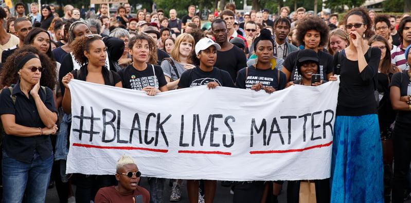 Black Lives Matter Berlin Demonstration