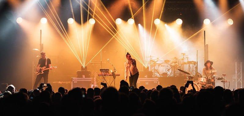 Vok performing at Iceland Airwaves 2019