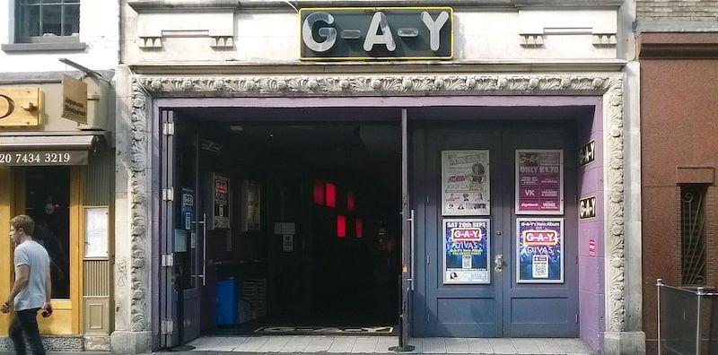 London nightclub G-A-Y