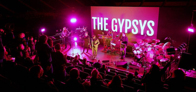 The Gypsys on the Live im Park stage