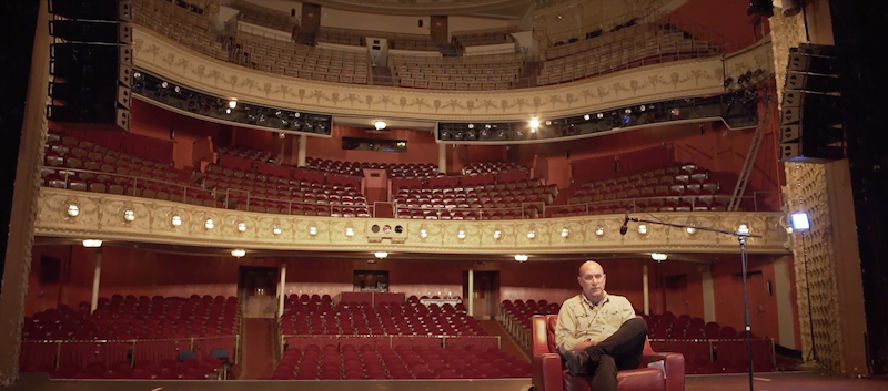Gary Witt from Pabst Theatre Group, Milwaukee from SOS campaign video