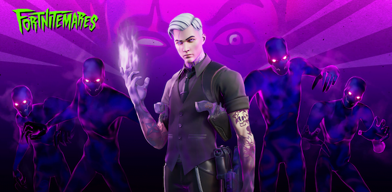 Shadow Midas from Fortnitemares 2020: Midas' Revenge