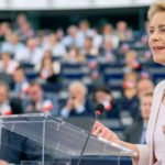 "EC president Ursula von der Leyen has called for continued ""policy support"" for EU economies"