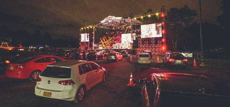Drive-in concert series Caravana is currently taking place in the capital