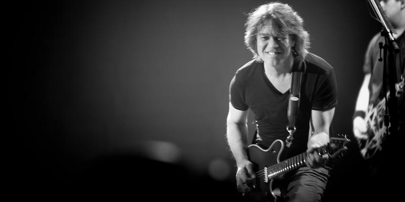 Eddie's last Van Halen concert was almost five years to the day he died