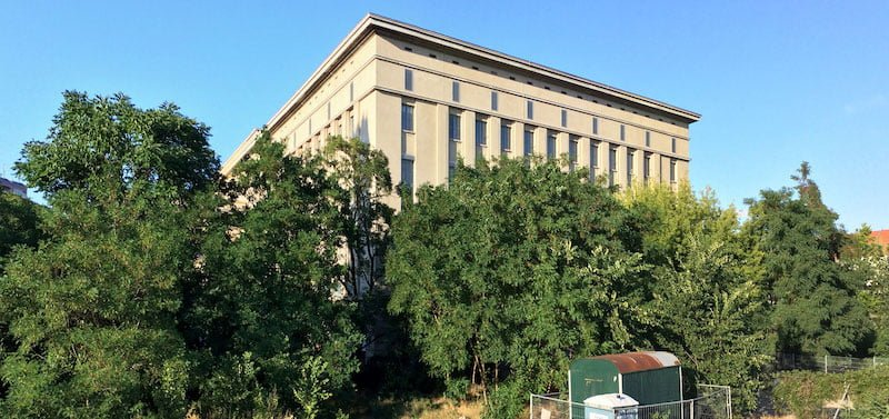 Berlin's legendary Berghain was the first club to benefit from the lower rate of tax