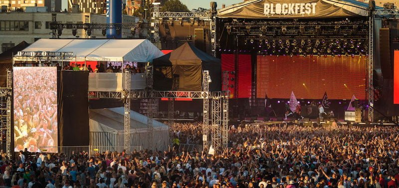 Blockfest promoter Live Nation is a founder member of the Event Industry Association