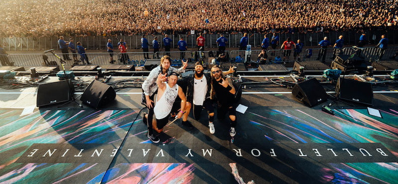Bullet for My Valentine and fans at Wacken Open Air 2019