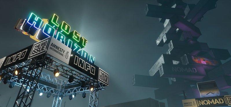 Lost Horizon's virtual reality venue in Sansar