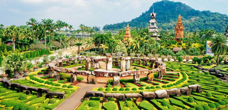 Rave Culture Thailand takes place in Pattaya's Nong Nooch Tropical Garden
