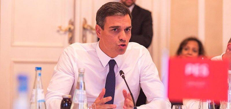 Prime minister Pedro Sánchez