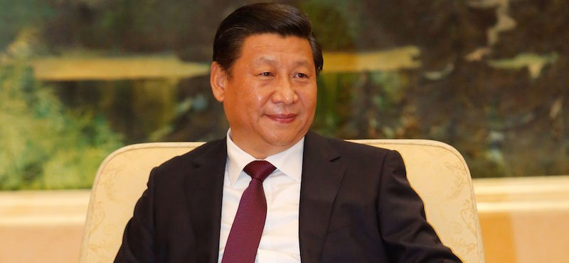 Chinese president Xi Jinping is head of the Central Cyberspace Affairs Commission