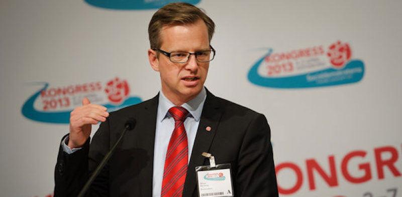 Sweden's interior minister, Mikael Damberg