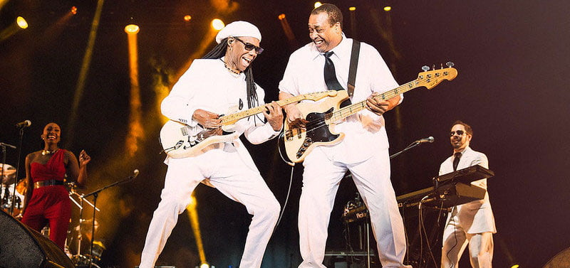 Nile Rodgers is donating a signed custom-made replica of his Fender Stratocaster guitar