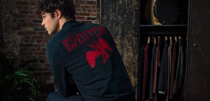 Probity's Led Zeppelin x John Varvatos collection marks 50 years of the former's debut LP