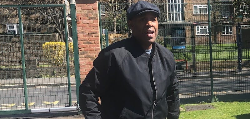 Barrie Knight's fundraising began at St Paul's school in London
